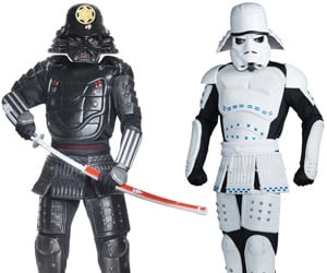 Samurai Darth Vader and Stormtrooper Costumes: Star Weird