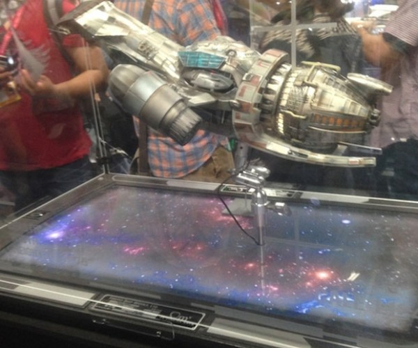 QMx Shows off Movie quality Gigantic Serenity Ship Replica