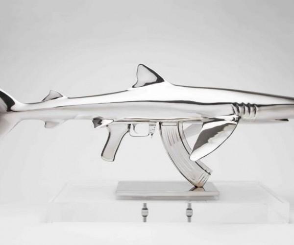 Chrome Shark Guns Need Frickin' Laser Beams
