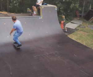 Skatehack Ramps Add Sound Effects While You Skate: Disco Flip