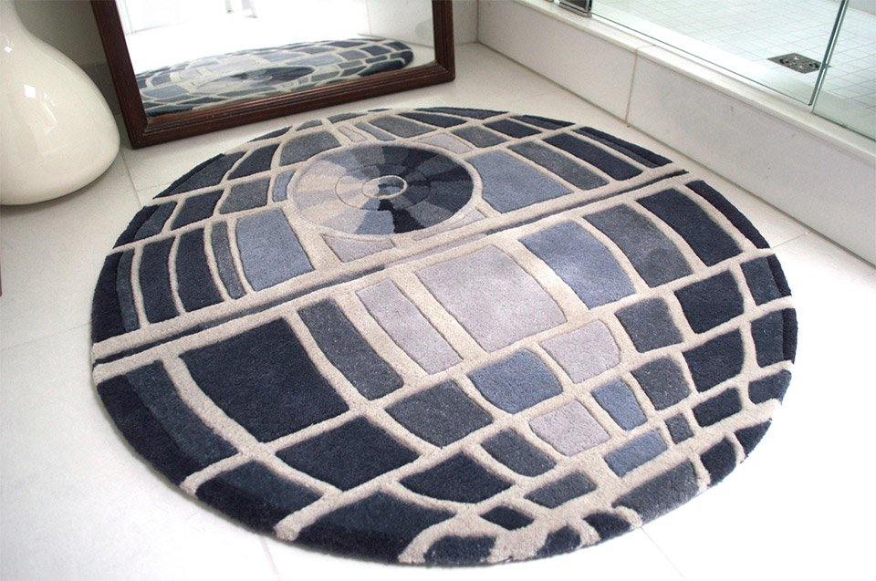 Death Star Rug The Ultimate Power In The Universe Is