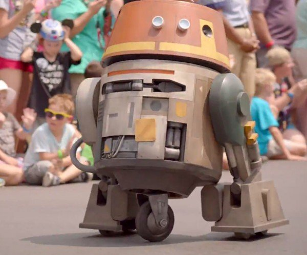 Star Wars Rebels Chopper Astro Droid Replica: Art–who?