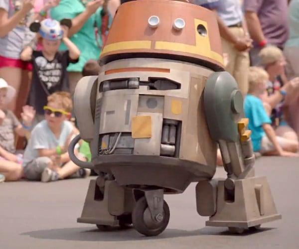 Star Wars Rebels Chopper Astro Droid Replica: Art–who?