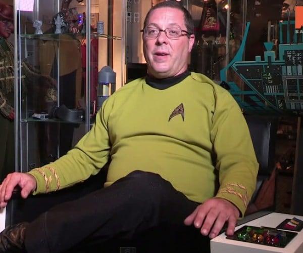 Star Trek Fan Turns His Basement into the Enterprise