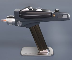 Star Trek Phaser Remote Control Zaps TV Programs Back to the Delta Quadrant