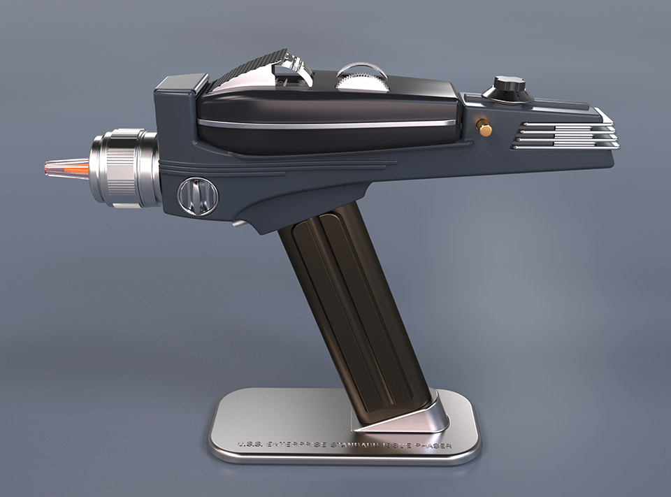 Star trek phaser remote control zaps tv programs back to for Farbideen wand