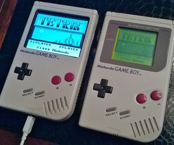Raspberry Pi Console Emulator in a Game Boy Case: Super Pi Boy