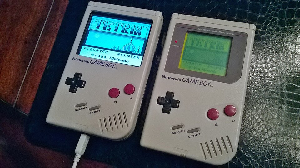 Raspberry pi console emulator in a game boy case super
