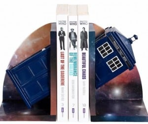 TARDIS Bookends: More Literate on the Inside