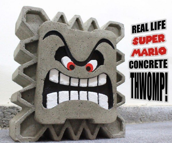 Make Your Own Concrete Thwomp