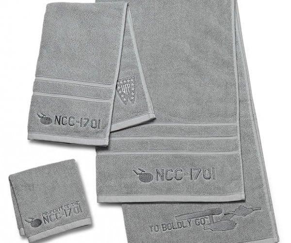 Star Trek 3-Piece Bath Towel Set: To Boldly Bathe…