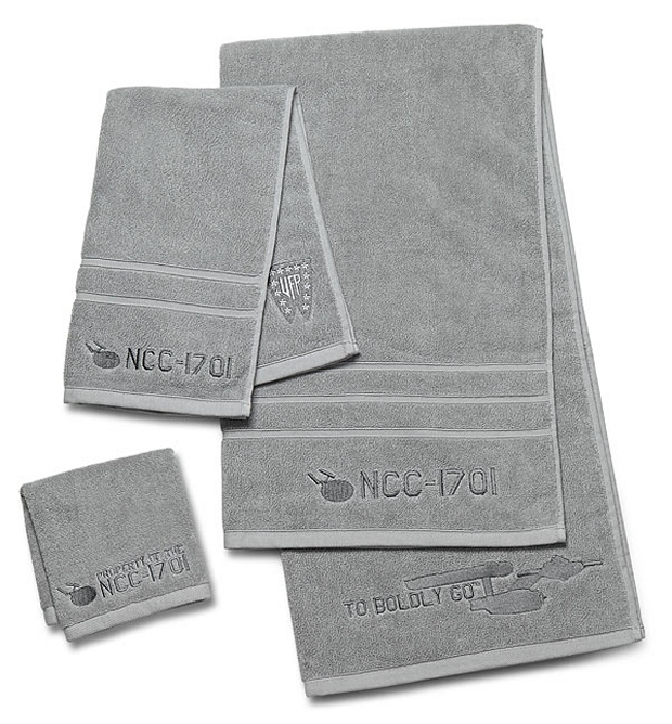 This Star Trek Towel Set Will Class Up Your Bathroom And Hopefully Make It  Look A Bit More Like A Bathroom On The Enterprise. Part 82