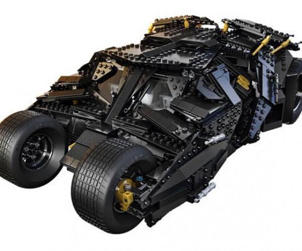 The Dark Knight UCS Tumbler LEGO Kit Debuts at Comic-Con