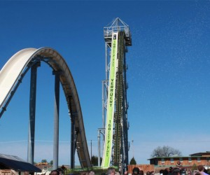 Insane Verruckt Water Slide Stands 17-stories Tall
