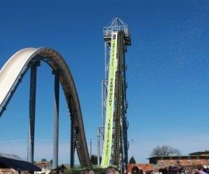 Insane Verruckt Water Slide Stands 17-stories Tall