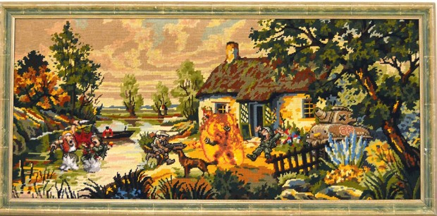 video game tapestry by Gauvain Manhattan 4 620x306