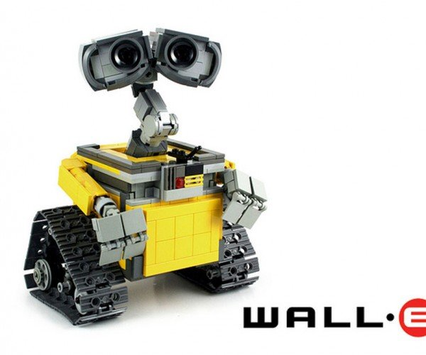 Pixar Animator's Wall-E LEGO Kit Hits 10,000 Supporters on LEGO Ideas