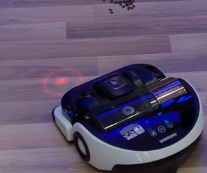 Samsung's Robot Vacuum Cleaner Can Follow Laser Pointers: Watch out, Cats