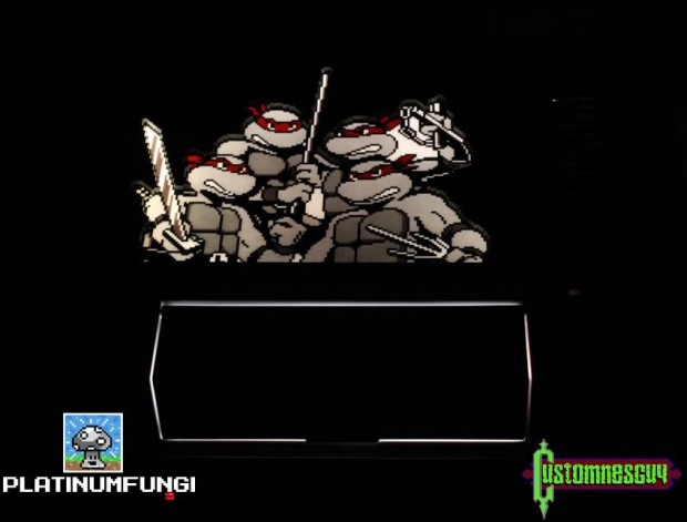 Teenage Mutant Ninja Turtles 30th anniversary NES by Platinumfungi and Custom NES Guy 3 620x471