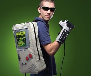 Travel Boy Game Boy Backpack: The Green Screen of Life