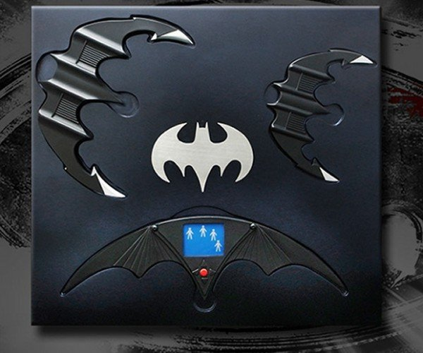 Limited Edition Michael Keaton Era Batarangs