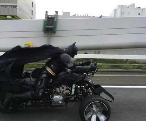 Batman Spotted in Japan