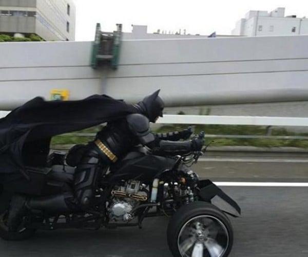 Batman Spotted in Japan