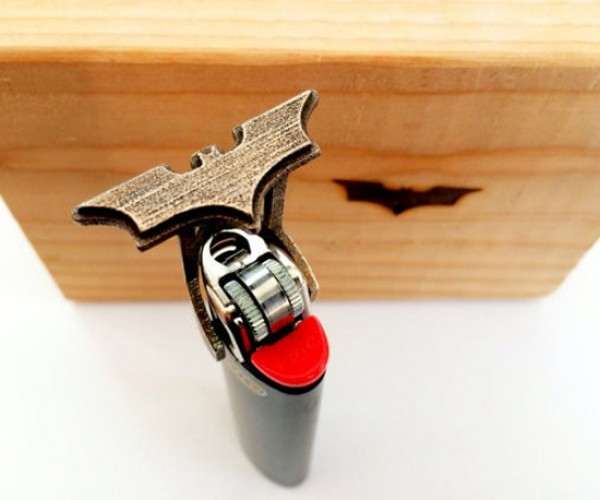 Batman Lighter Branding Iron: Sear to Me!