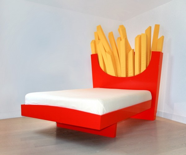 Sleepersize Me: The French Fry Bed