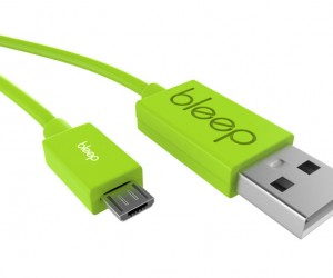 Bleep Smart Charging Cable Has Local Storage for Backups
