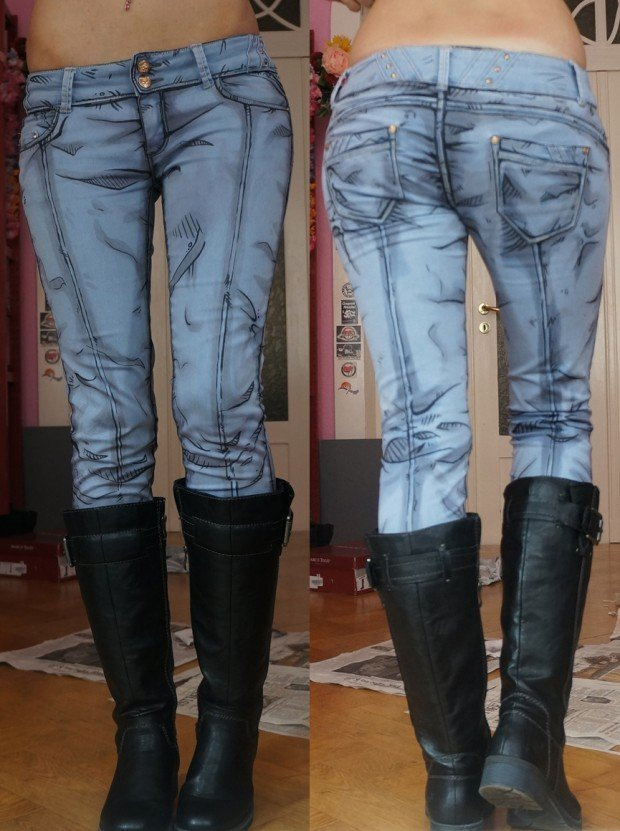 borderlands nisha cel shaded jeans by kirameku 620x831