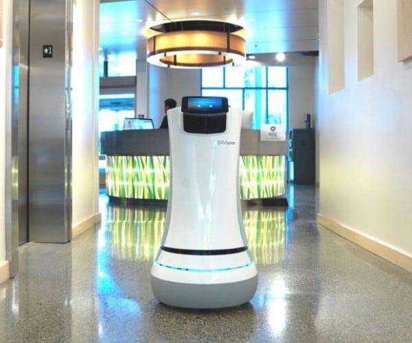 """Savioke """"Botlr"""" Robot Butler Goes into Service at California Hotel"""