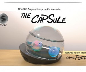 The Capsule Has Electronic Fish that Don't Die