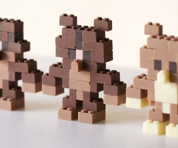 These Chocolate LEGO Bricks Are Functional – Until They Melt