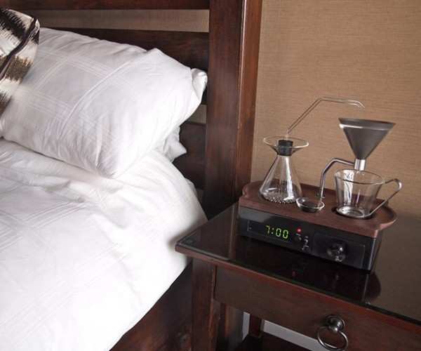 Barisieur Coffee Alarm Clock: The Best Part of Waking up…