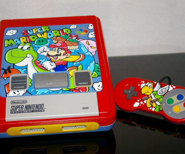 Custom Super Mario World SNES: Yoshi Approved