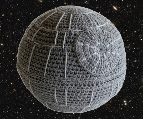 Death Star Cushion: the Ultimate Softness in the Universe