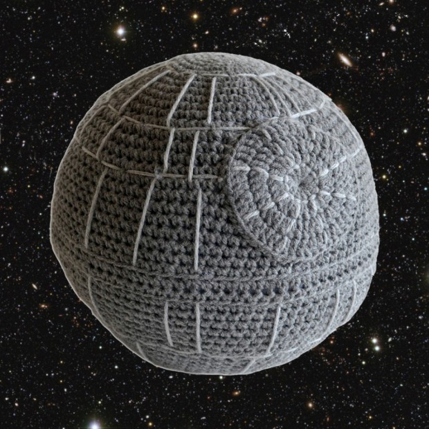 death star cushion