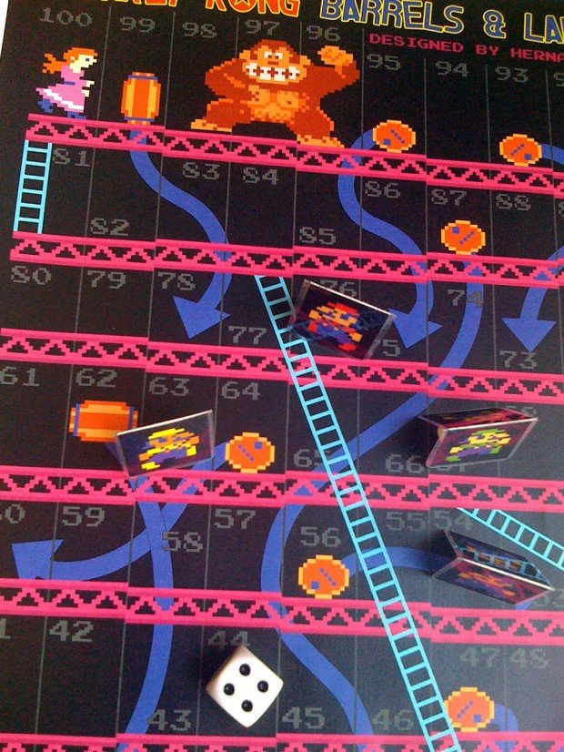 donkey-kong-barrels-and-ladders-board-game-by-hernando-melo-4