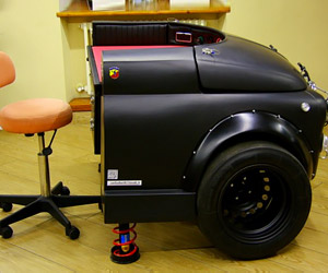 Fiat 500 Abarth Racing Desk: World's Slowest Car