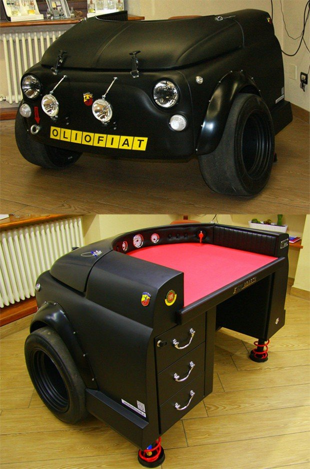 Fiat 500 Abarth Racing Desk World S Slowest Car
