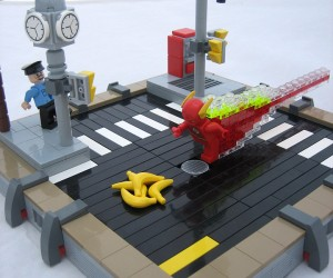 LEGO Flash Meets His Match in this Diorama