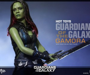 You Can Posses Zoe Saldana in Action Figure Form with this Gamora Collectable