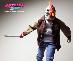 Hotline Miami Action Figure is Not Top Down