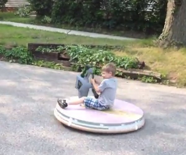 Best Dad Ever Builds Hovercraft for His Kids