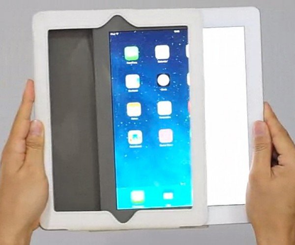 i-Spy Privacy Tablet: White Out
