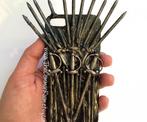 Iron Throne iPhone Case: Iron Phone