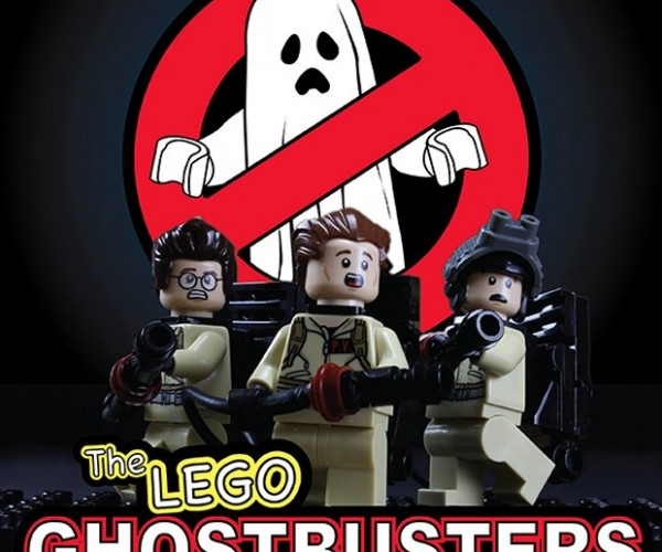 Stop-Motion LEGO Ghostbusters Movie (with Special Guest Ghost)