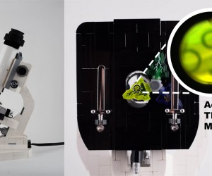 LEGO Microscope Mk. II is Functional: 10x Cooler