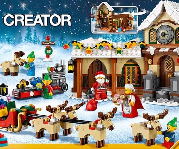 Santa's Workshop LEGO Creator Kit Unveiled: We Wish You a Blocky Christmas